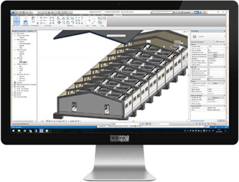 Proyecto técnicos ejecutado a través de modelado 3D utilizando tecnología BIM
