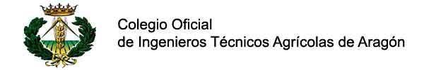 Logo Colegio Oficial Ingenieros técnicos Agricolas