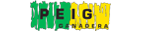 Logotipo de Peig Ganadera en verde y amarillo