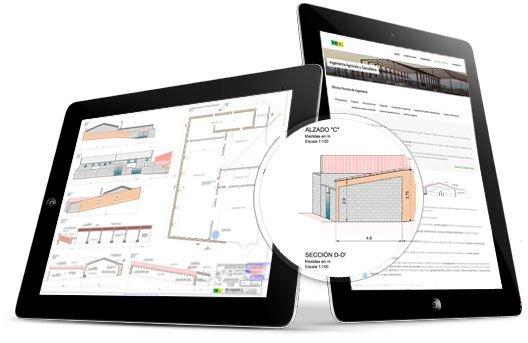 planos del proyecto de regularización de nave ovino