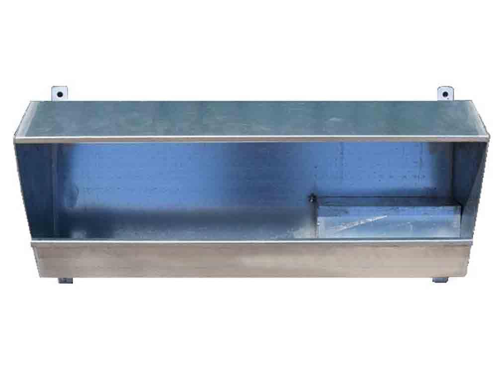 Bebedero de nivel constante para colgar o anclar a pared. Sistema de suministro de agua en explotaciones ovino y caprino.