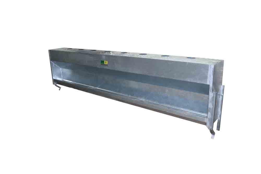 Tolva para colgar de ganado ovino con medidas personalizadas fabricada en chapa galvanizada