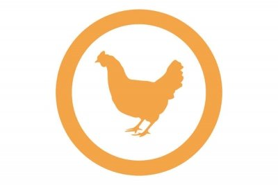 Icono de un pollo