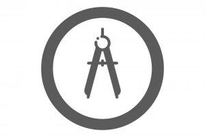 icono proyecto planos