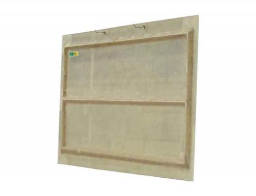 Ventanas para granjas de fibra de vidrio