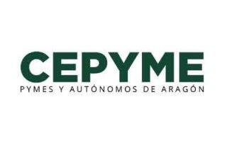 Logotipo de la Confederación Española de la Pequeña y Mediana Empresa - Componentes de la mesa redonda de los Premio de Responsabilidad Social de Aragón 2018