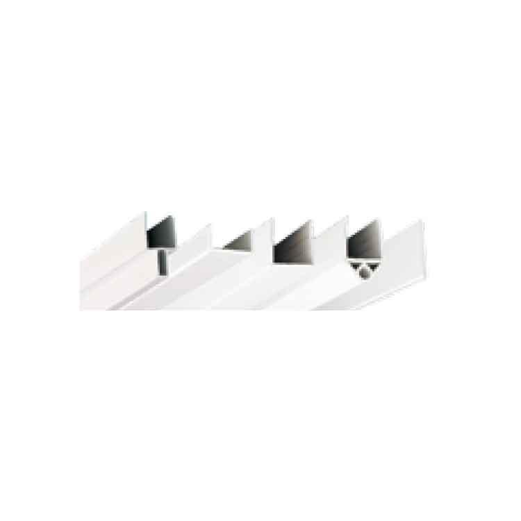 Perfil de PVC unión de paneles