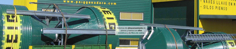 silos prelacados para transporte