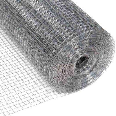 Rollo de malla pajarera en distintas medidas fabricado en acero inoxidable utilizado como medida de bioseguridad en granja para evitar la entrada de aves y otros elementos de riesgos