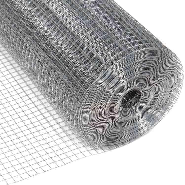 Rollo de malla pajarera fabricado en acero inoxidable