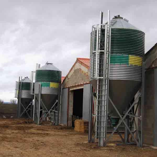 silos galvanizados dos virolas