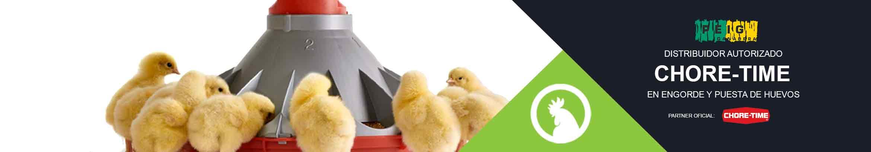 Distribuidor oficial de equipamiento Chore-Time para España - Naves llaves mano de engorde de pollos y nideras