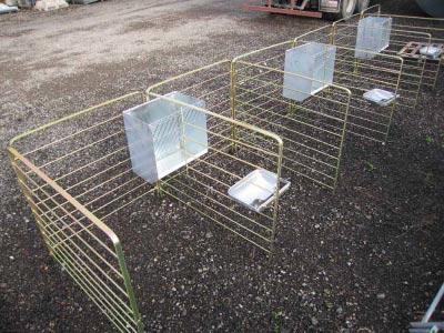 Sistemas de jaula para paritorio en ovinos gestantes que mejoran la maternidad de las ovejas respecto los corderos.